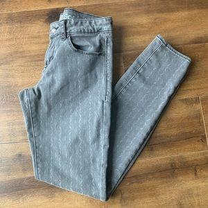 Articles of Society gray skinny jeans sz 26